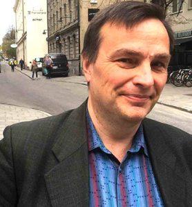 Lasse Wåhlstedt, förbundsombudsman på Pappers