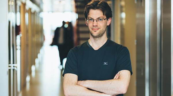 Christian Smith, robotforskare på KTH.