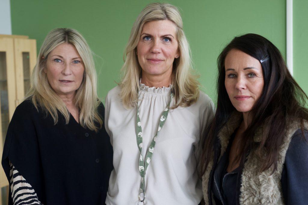 Christina Nilersand, Camilla Trygg och Pia Skålberg betonar vikten av att ledningen skapa förutsättningar för personalen att hinna planera, reflektera och samarbeta.